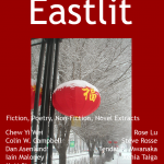 Eastlit Archive: April 2013. April 2013's cover is titled Urumqi in Winter and is sent to us by Xenia Taiga. Graham Lawrence designed the April 2013 cover. Urumqi is the capital of Xinjiang Uyghur, China. The Editorial for April 2013 is by Graham Lawrence. April 2013 writers are: Rose Lu, Chew Yi Wei, Dan Asenlund, Tendai R. Mwanaka, Colin W. Campbell, Matt Sipprell, Steve Rosse, Iain Maloney.