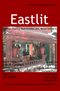 Eastlit Popular Literature. July 2014 Cover: Picture: Xenia Taiga. Cover design by GrahamLawrence. Copyright photographer, Eastlit and Graham Lawrence.