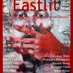 Archive: Eastlit January 2014. The Picture is the Speak no Evil by Thomas Donaldson. The unique Eastlit January 2014 Cover Design is by Graham Lawrence. Copyright Eastlit and Photographer.