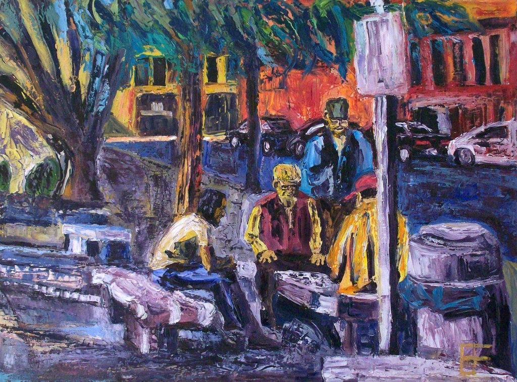 Eastlit January 2015: allen forrest_seattle_asiatown_the_players_oil_on_canvas_18x24_2011