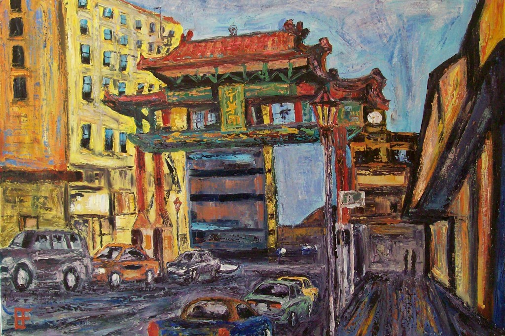 Eastlit January 2015: allen forrest_seattle_asiatown_west_archway_oil_on_canvas_24x36_2011