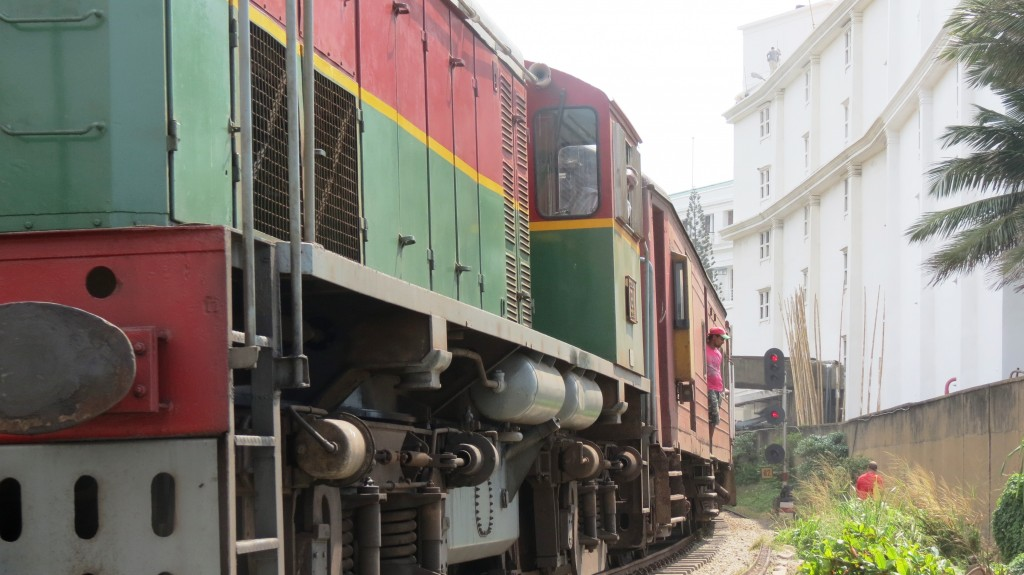 Eastlit February 2015: Gill Morris photos, Colombo Train