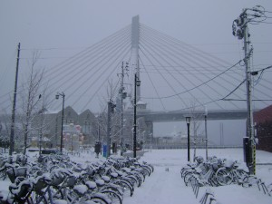 Eastlit January 2016: Aomori Bay Bridge in Snow
