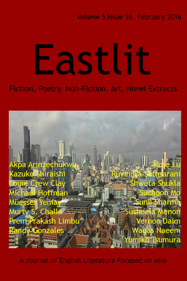 Eastlit February 2016 Cover Picture: Change by Graham Lawrence. Cover design by Graham Lawrence. Copyright photographer, Eastlit and Graham Lawrence.